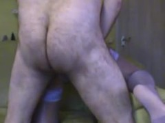 Wicked mature milf gets warm surprise into muff from her boy Thumb