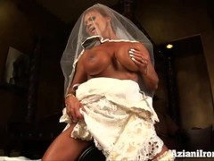 Sybian ride on her wedding day Thumb