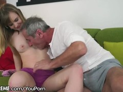 21Sextreme Grandpa Sticks in In Little Blonde Teen Thumb