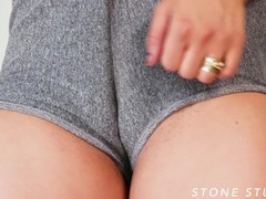 Bianca wears Gym Shorts with Camel Toe and IGNORES YOU! Thumb