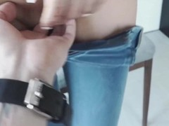 Skinny Teen in Thight Jeans Fucked Thumb