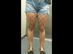 I fuck and cum inside my tinder date in fishnet stockings - eroyamka Thumb