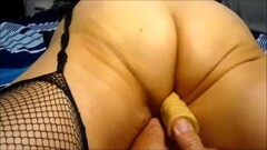 Wife working her 10 inch dildo to a climax..mp4 Thumb